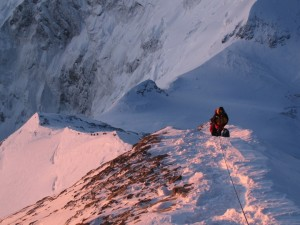 Climbing a mountain is a bit like life. It's a journey, a challenge...